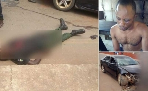 Bloody: Notorious Armed Robbers Shoot Chinese Man, Kill Inspector Before Carting Away N10m in Imo (Photo)
